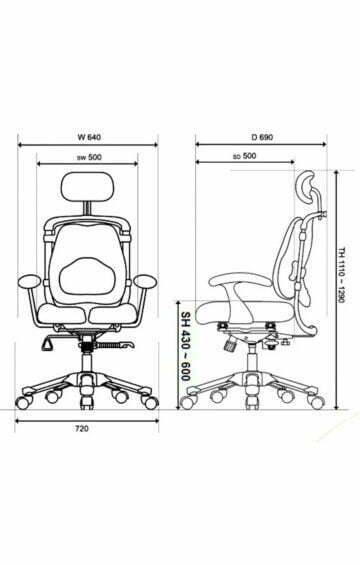 HARASTUHL-Arbeitsstuhl-Arbeitsstuehle-Buerodrehstuhl-PC-Sessel-Gamer-Gaming-Zocker-Orthopaedischer-Orthopaedische-Hara-Ergonomischer-Stuhl-Ergonomische-Stuehle-Computerstuhl