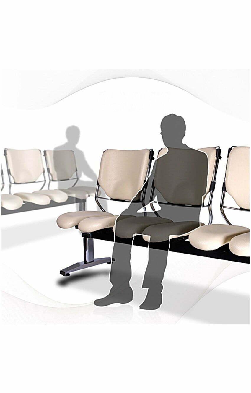 Schreibtischstuhl ergonomisch test  HARASTUHL LOB M-116 » Dreisitzer fürs Wartezimmer | HARASTUHL®